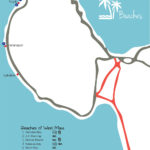 Maui Travel Guide Itinerary Maui Beaches Map